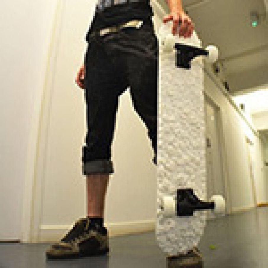 3D Printed Deck Skateboard Sam Abbott