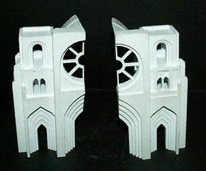 3D printed Model Mcor