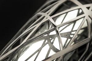 3D printed lattice detail