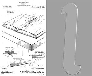 Bookmark US Patent Office 3D model