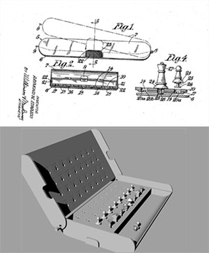 Chess US Patent Office 3D model