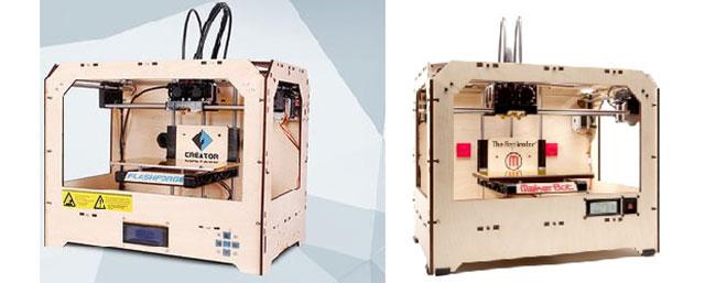 Creator 1 - Replicator 1 3D Printers