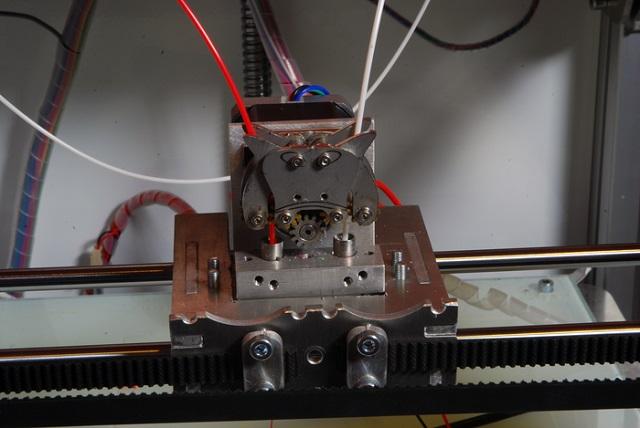 D3D Dual extruder