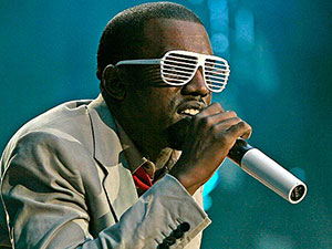 Kanye West Cubify 3D Printed Glasses