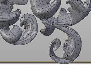 Pia Hanze 3D Printed Dress Details