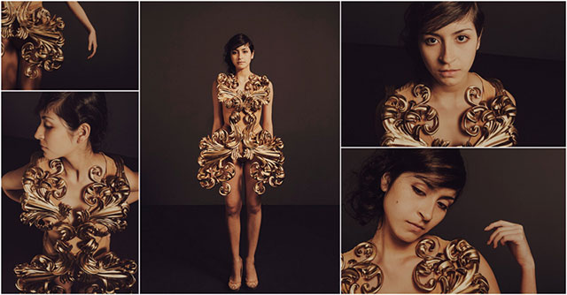 Pia Hanze 3D Printed Dress
