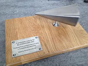 Prototype Nosetip Bloodhound Additive Manufacturing Renishaw