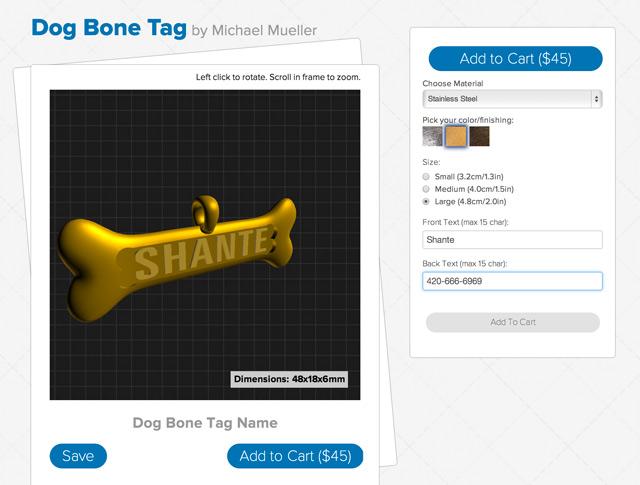Shante Mixeelabs Creator 3D Model