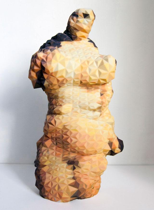 Venus of Google Matthew Plummer Fernandez 3d Printed