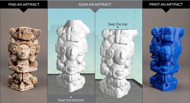 digitizer 3D Scan MakerBot