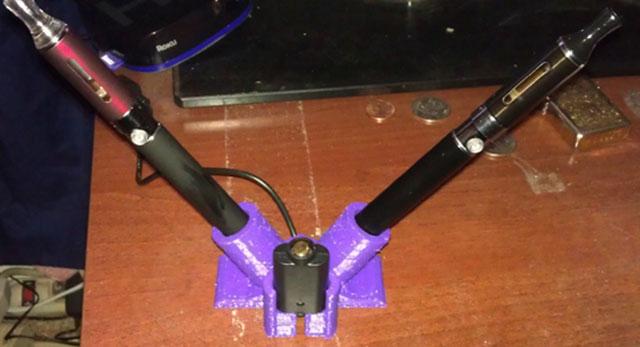 electric cigarette holder 3D Printed