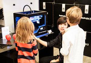 events kids Saturdays Microsoft Makerbot