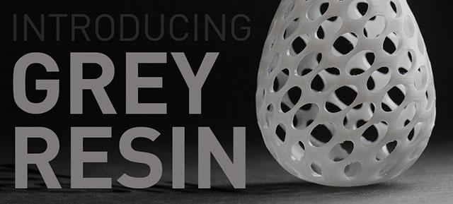 grey resin thin Formlabs 3D Printing