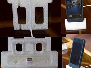 iPhone dock 3D Printed