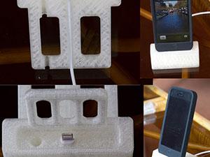 iPhone dock 3D Printed