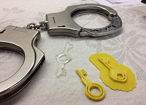 keys 3D Printed MIT