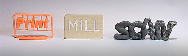 print mill scan  FABtotum