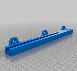 scissor slider lower left 3D Printed