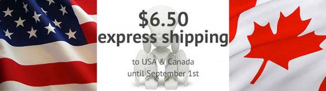 Sculpteo shipping US Canada