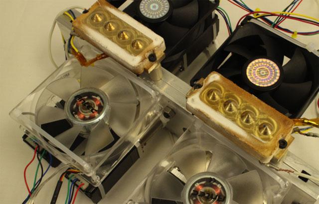 8 extruders Lionhead 3D Printer