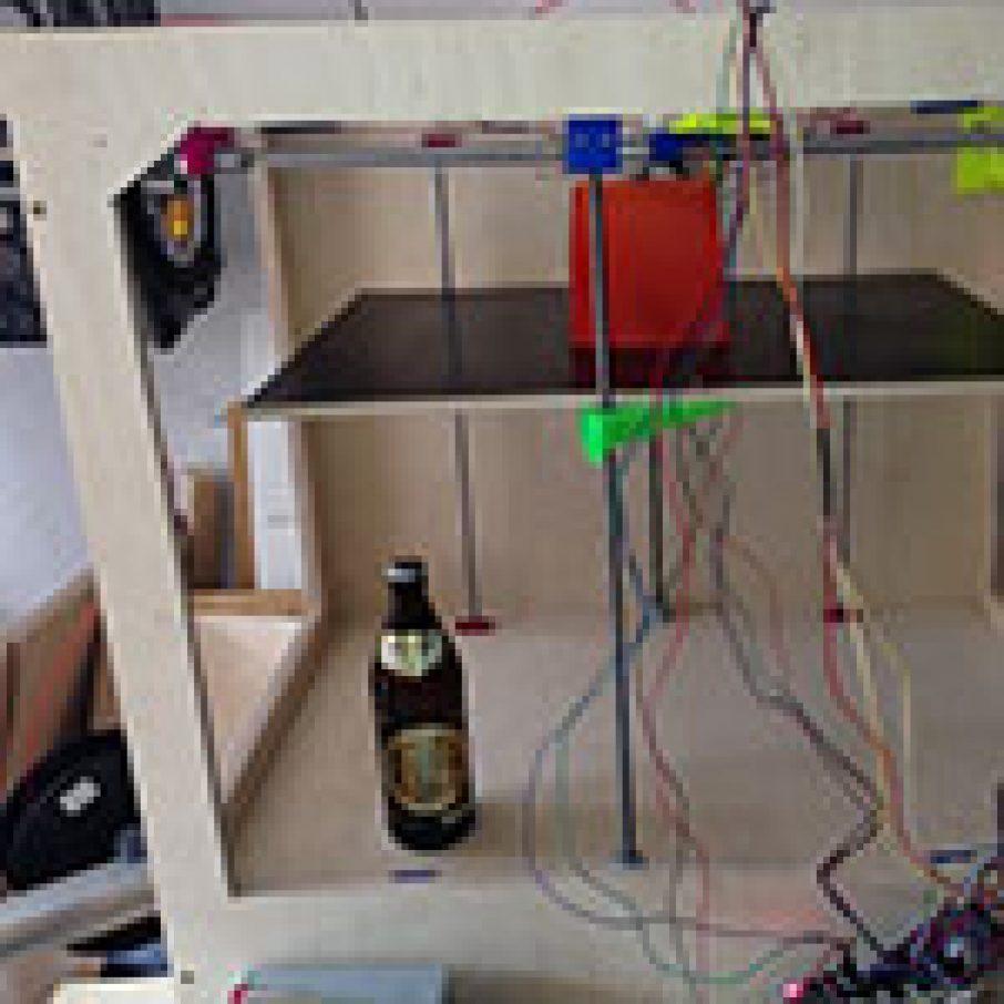 Big Brad 3D Printer