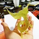 Creature 3D Printed Spot-A-Materials