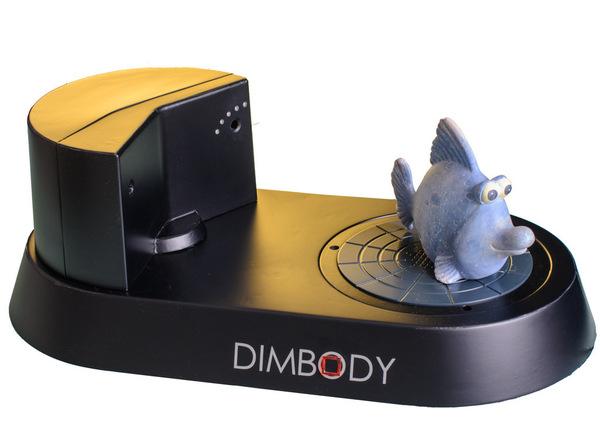 Dimbody close-up 3D Scanner