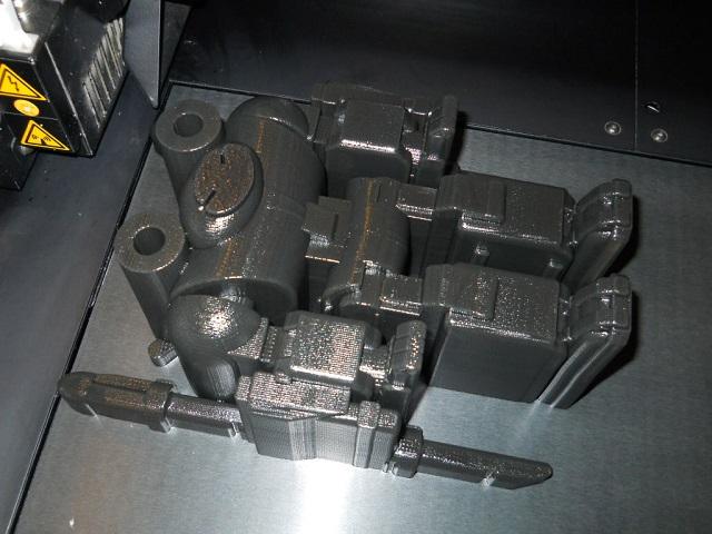 Jaeger in 3D printer
