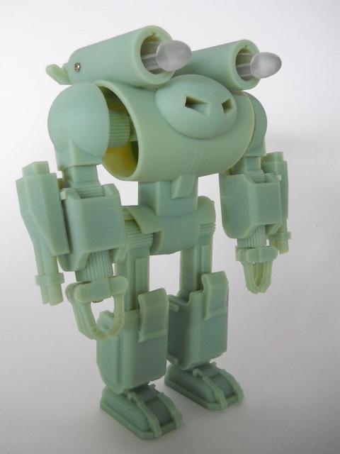 Jaeger green 3D Printed