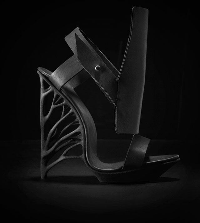 Marieka Ratsma Juxtapose 3D Printed Shoe