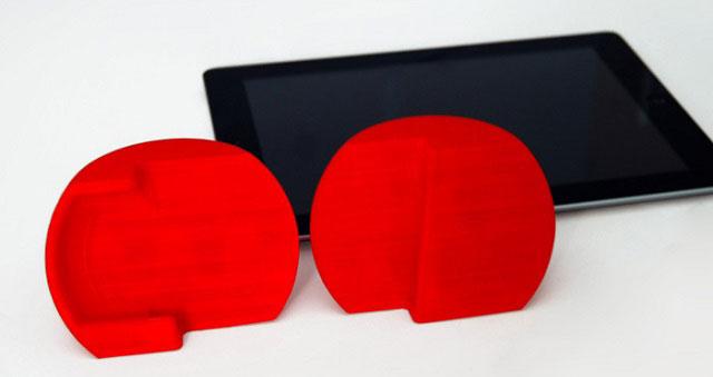 Opus amp red 3D Printed