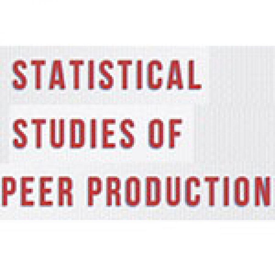 Peer Production Statistical Studies of Peer Production