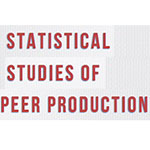 Peer Production Statistical Studies of Peer Production