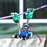 SkySweeper 3D Printed Powerline inspection robot