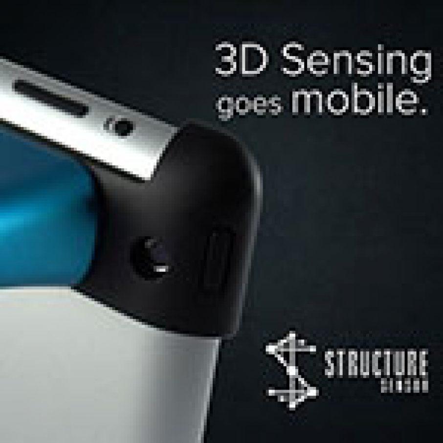 Structure Sensor iPad 3D Scanner