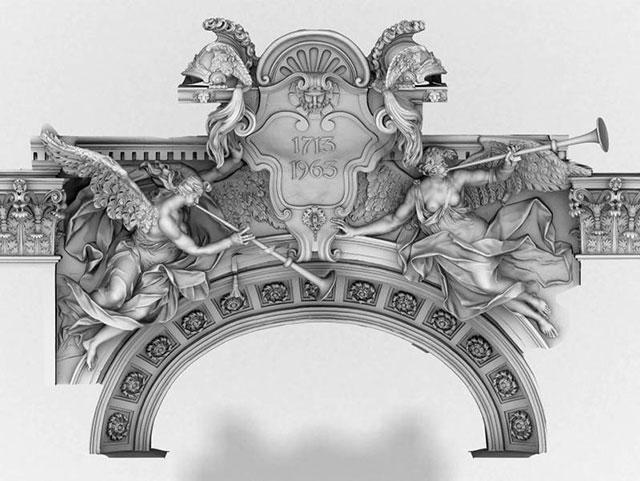 TrigonArt 3D Scanning Liebknecht portal