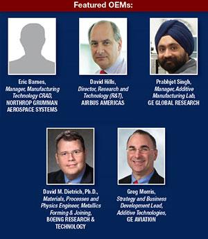 Additive aerospace summit featured oems