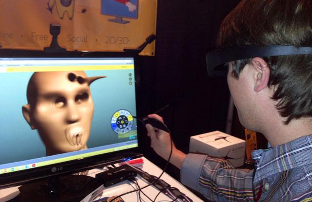 Leonar3Do 3D modeling