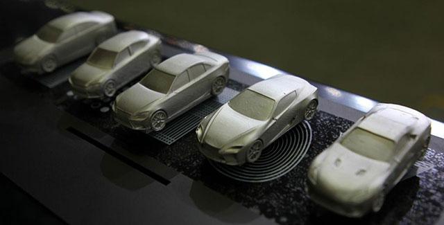 A 3D printed Lexus at the 2013 Seoul Auto Show? - 3D