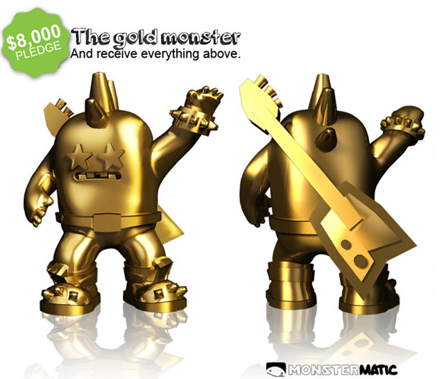 Gold Monster Monstermatic App