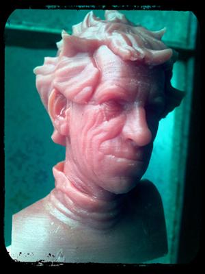head 3D Printed Spot-A-Materials