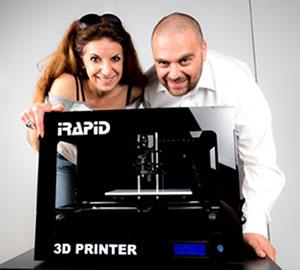 irapid 3D Printer team