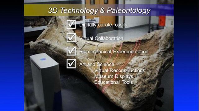 Dr. lacovara 3D printing dinosaur bones