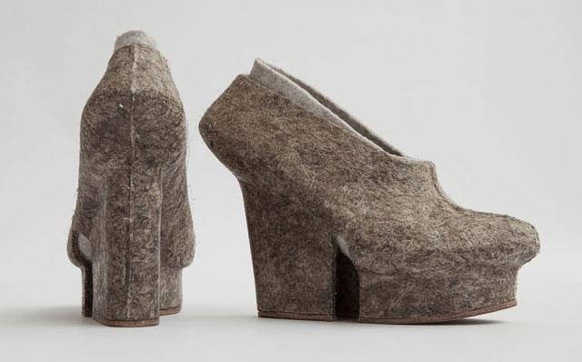 Liz Ciokajilo Footwear 3D-Printed Moulds