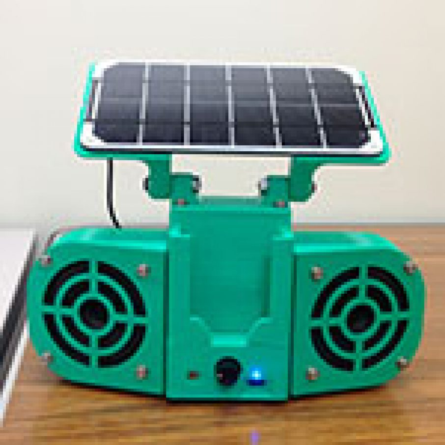 solar powered stereo