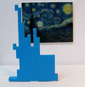 starry night Van Gogh Redesign MoMA Teen