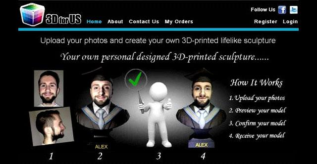 3DforUS 3D Printed Sculpture