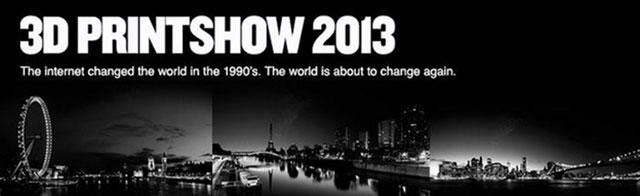 3d printshow 2013