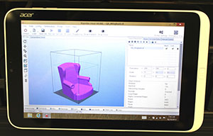 Acer tablet Chair 3d model