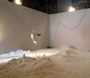 Jonathan Schipper Art Installation Detritus